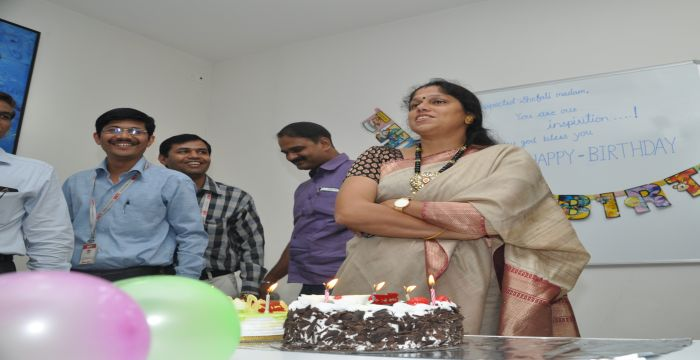 Happy Birthday Shefali Cake