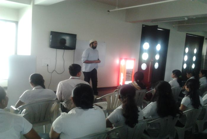 Expert Session By Mr.Hussain
