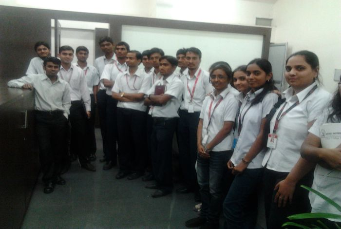 TE_IT Students at ESDS Software Solutions Ltd, Satpur, Nashik